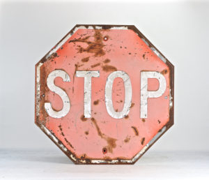 human factors in history old stop sign