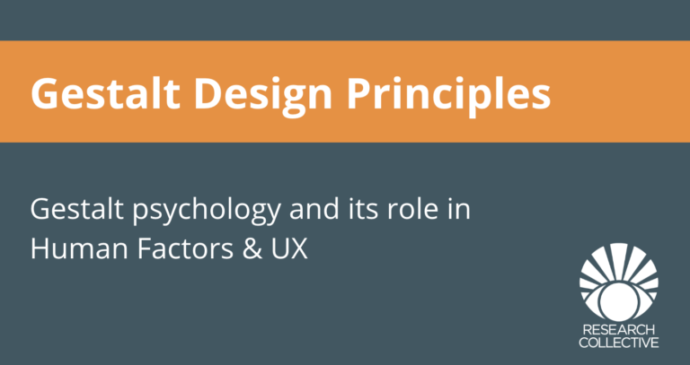 Gestalt design principles hero